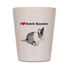 Dutch Bunny Shot Glass