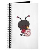 5th Birthday Ladybug Journal