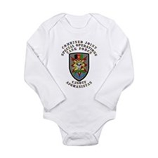 SOF - CJSOTF - Afghanistan Long Sleeve Infant Body