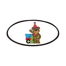 1st Birthday Bear Patches