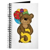 5th Birthday Bear Journal