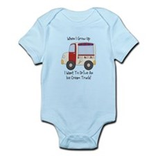Drive IceCream Truck Infant Bodysuit