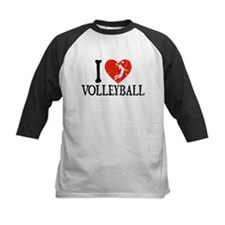 I Heart Volleball - Girl Tee