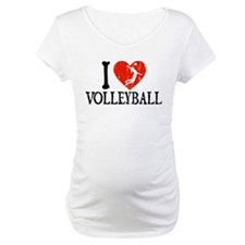 I Heart Volleball - Girl Shirt