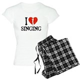 I Heart Singing - Girl  Pyjamas