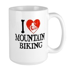 I Heart Mountain Biking Mug