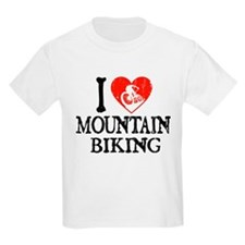I Heart Mountain Biking T-Shirt