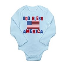 god bless america Body Suit