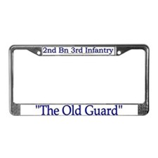 2nd Bn 3rd Infantry Regiment License Plate Frame