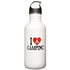 I Heart Camping - Picto Water Bottle
