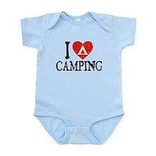 I Heart Camping - Picto Infant Bodysuit
