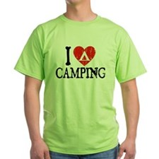 I Heart Camping - Picto T-Shirt