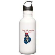 Give me liberty Water Bottle