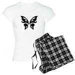 Women's Light Butterfly Madness Pajamas
