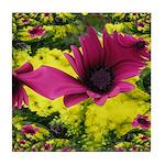 Purple Bliss Tile Coaster