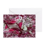 Funky Rose Pedals Greeting Cards (Pk of 20)