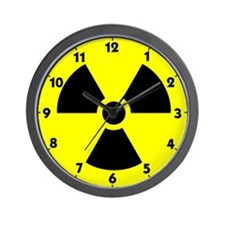 Radiation Icon Wall Clock