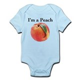 Peach Infant Bodysuit