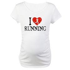 I Heart Running - Girl Shirt