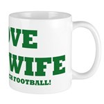 Funny my wife football Mug
