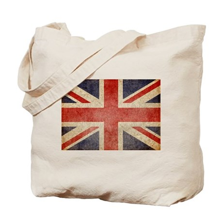 UK Faded Tote Bag