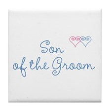 Groom Tile Coaster