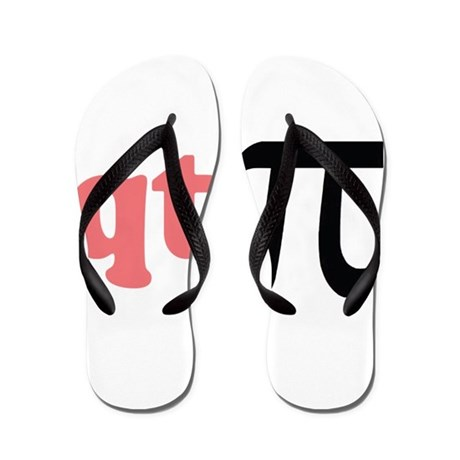 Math Humor QT Pi Flip Flops