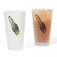 313 Detroit Spark Plug Drinking Glass