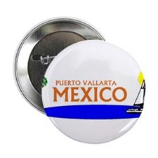 "Funny Puerto vallarta 2.25"" Button (100 pack)"