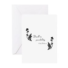 Dwell in Possibility Greeting Cards (Pk of 10)