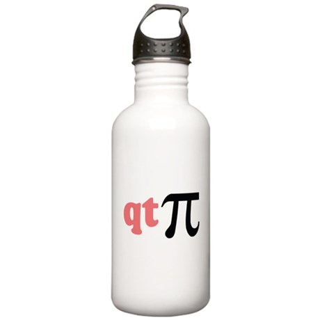 Math Humor QT Pi Stainless Water Bottle 1.0L