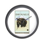 National Parks - Denali Wall Clock