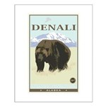 National Parks - Denali Small Poster