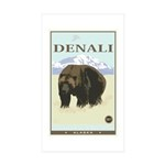 National Parks - Denali Sticker (Rectangle 10 pk)
