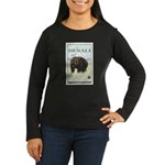 National Parks - Denali Women's Long Sleeve Dark T