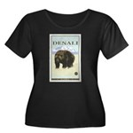 National Parks - Denali Women's Plus Size Scoop Ne