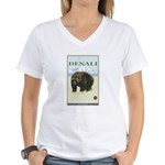 National Parks - Denali Women's V-Neck T-Shirt