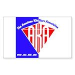American Kitefliers Associati Sticker (Rectangle)