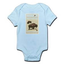 National Parks - Yellowstone Infant Bodysuit