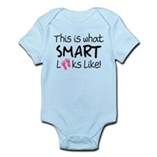 What Smart Looks Like Girls Infant Bodysuit