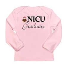 NICU Graduate Baby Girl Long Sleeve Infant T-Shirt