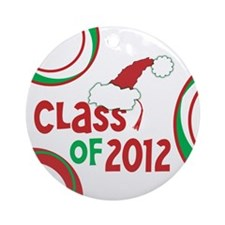 Class of 2012 Christmas Ornament (Round) w/Tassel