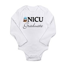 NICU Graduate Baby Boy Long Sleeve Infant Bodysuit