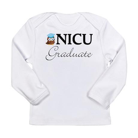 NICU Graduate Baby Boy Long Sleeve Infant T-Shirt