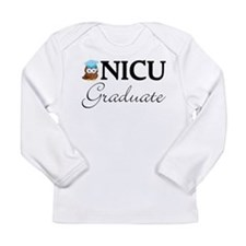 NICU Graduate Baby Boy Long Sleeve Infant T-Shirt