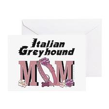 Italian Greyhound MOM Greeting Card