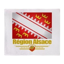 Alsace Region Throw Blanket