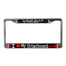 Otterhound Gifts License Plate Frame