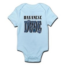 Havanese DUDE Infant Bodysuit
