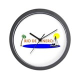 Cute Rio Wall Clock